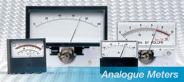 Superior analogue meters for industrial, electronic, process and audio applications